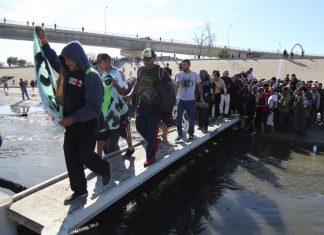 Мексико, САЩ, граница, Мигранти