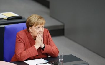 Ангела Меркел, инцидентът
