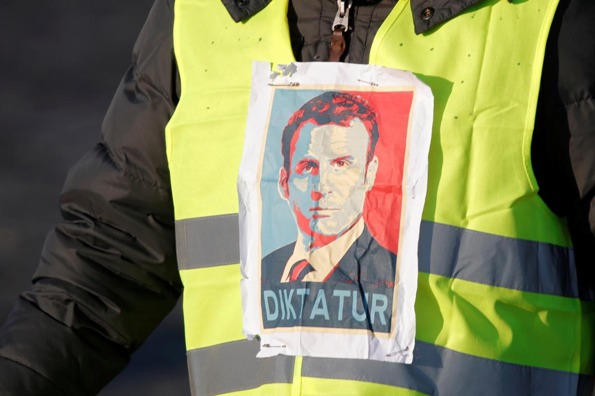 протести, Франция