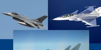 F-16 Юрофайтър Грипен