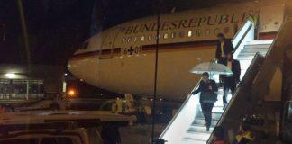 Меркел самолет
