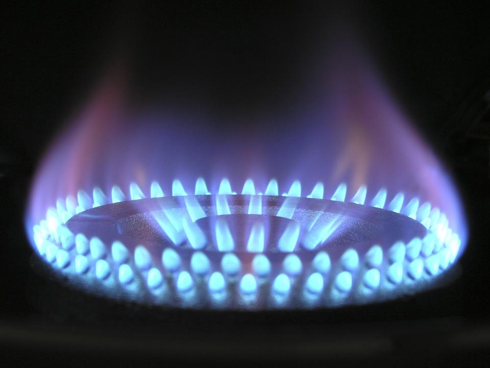 газ, ток