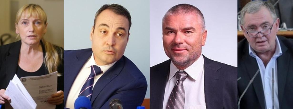 Елена Йончева, Борис Кърчев, Веселин Марешки, Георги Михайлов
