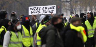 Париж, протести, жълтите жилетки