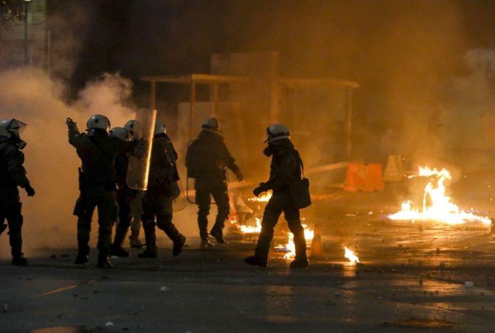 Гърция, протести, безредици
