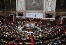 Франция, парламент, протестите