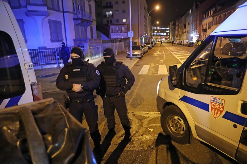 атентат, Страсбург, Шериф Шекат