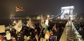 Унгария, протест