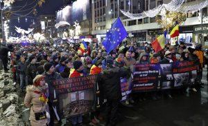 Румъния, протест, демокрация