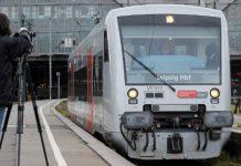Германия, влак