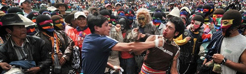 Перу, масов бой