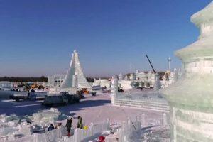 ледените скулптури