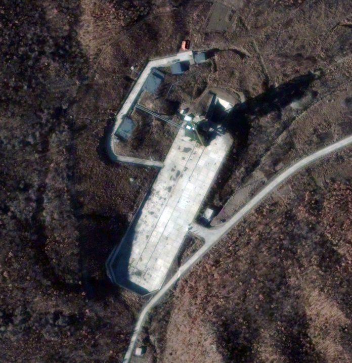 КНДР, ракетна база