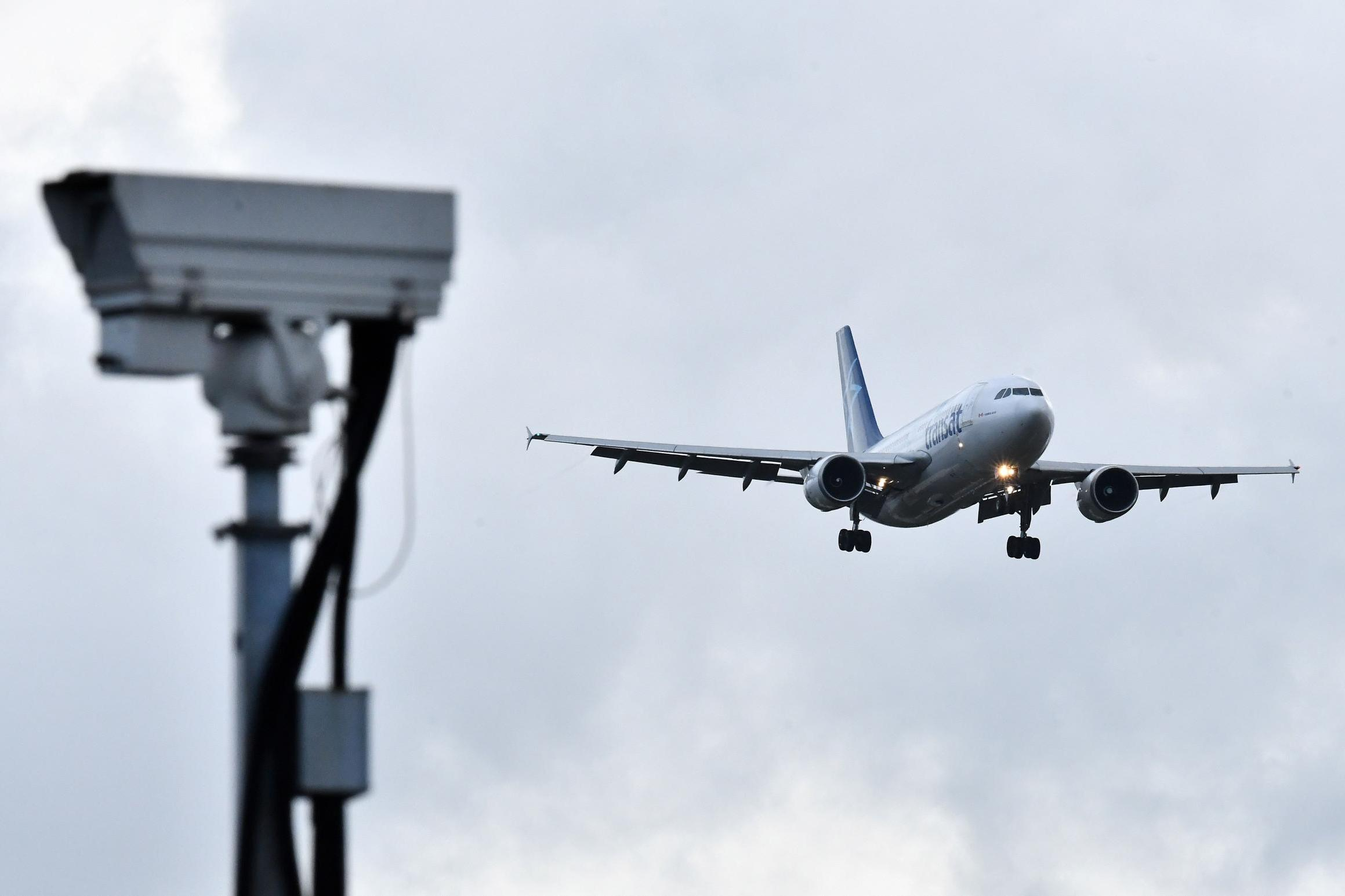 Летище Гетуик, дронове