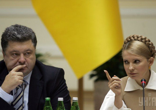 Порошенко, Тимошенко, кампания, избори