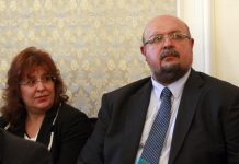 Елена Костадинчев и Станислав Лютов