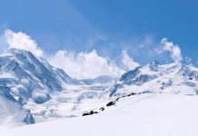 сняг, зима
