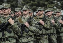Косово, армия