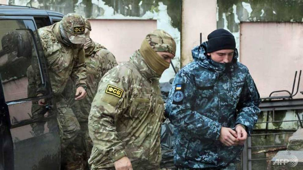 украински моряци