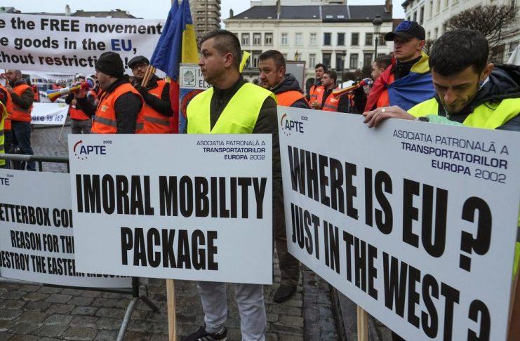 превозвачи, мобилност