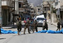 """Сирия, Манбодж, """"Ислямска държава"""""""