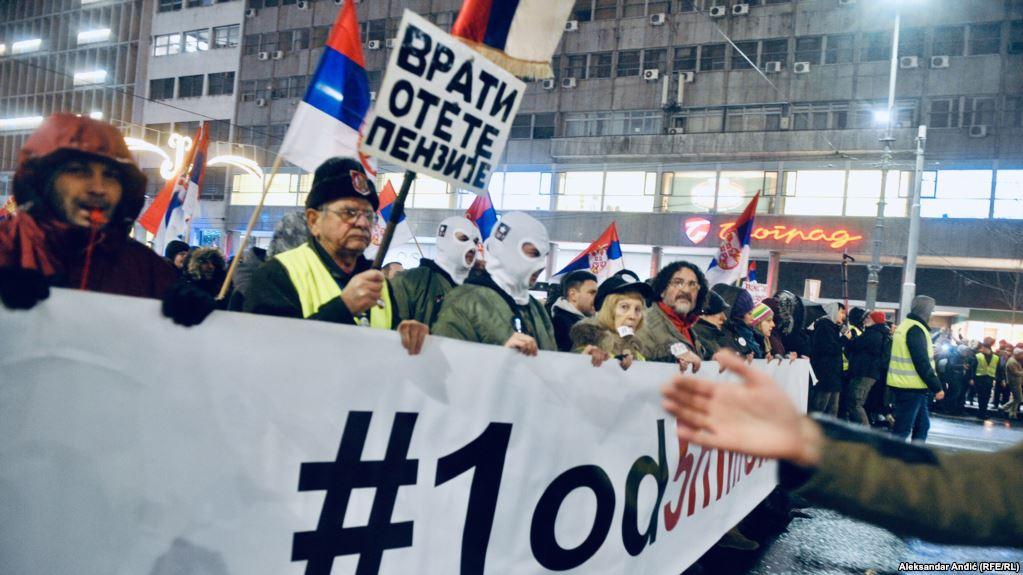 протест, Сърбия, Белград