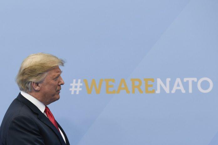 Доналд Тръмп, НАТО