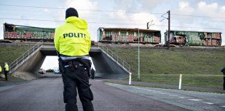 Дания, влак, ЖП катастрофа