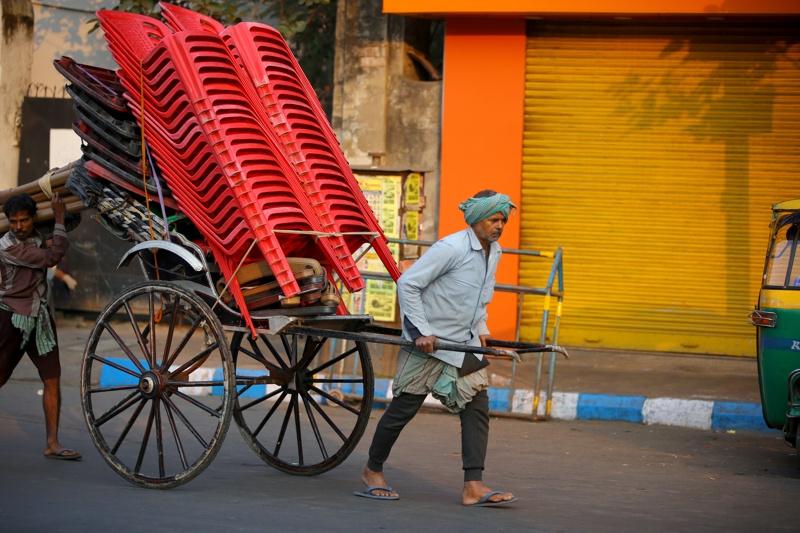 Индия, стачка