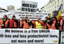 протест, Брюксел