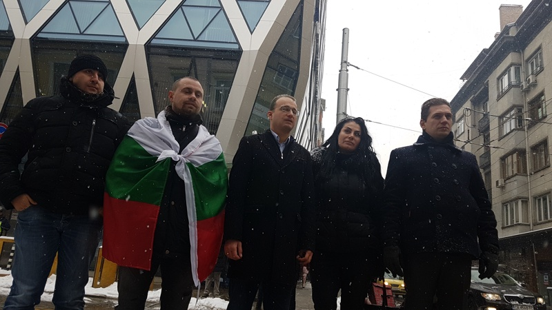 Симеон Славчев, протест