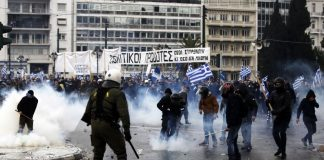 Атина, сблъсъци