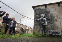 Банкси, графити