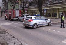 полиция, Казанлък, газ