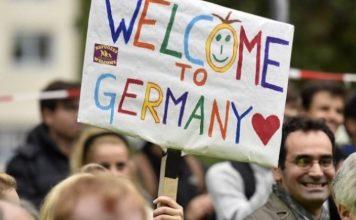 Германия, заселници