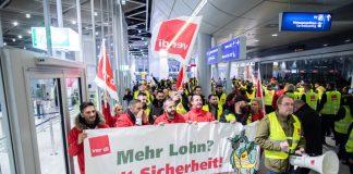 Германия, летища, протест, стачка