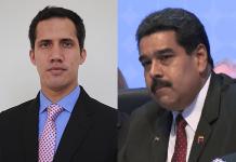 Николас Мадуро, Хуан Гуайдо
