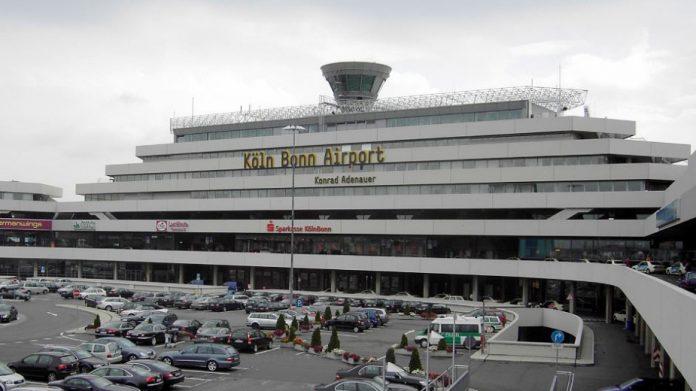 летище, Кьолн, стачка