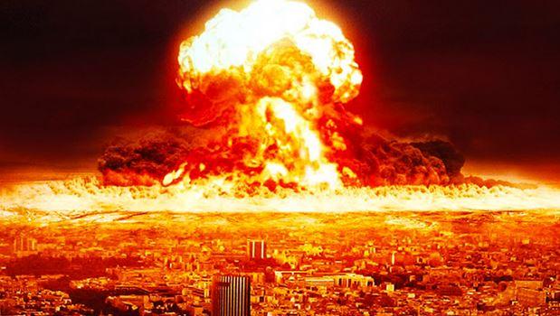 атомен взрив