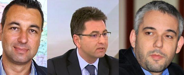 Веселин Давидов, Радослав Николов, Антон Антонов