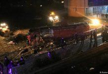 Македония, автобусна катастрофа, загинали, жертви