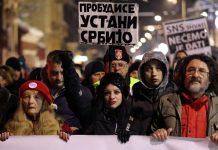 Сърбия, протести, Александър Вучич