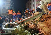 срутване на блок, Истанбул, жертви