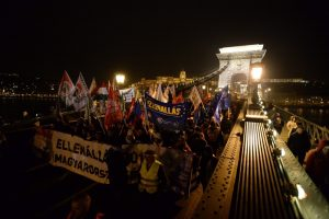 протест, Унгария, Виктор Орбан