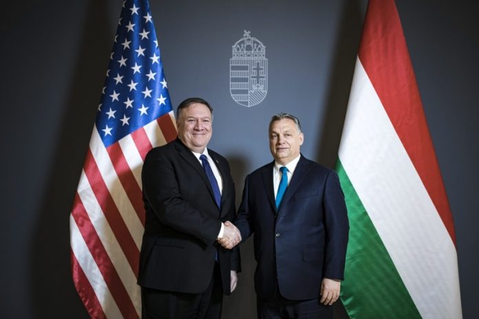 Майк Помпео, Виктор Орбан