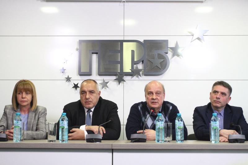 Йорданка Фандъкова, Бойко Борисов, Георги Марков, Данаил Кирилов