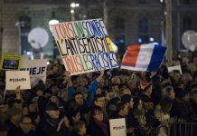 протест, Франция, антисемитизъм