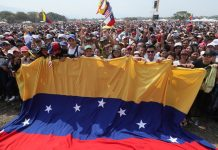 Венецуела, Хуан Гуайдо, Николас Мадуро, хуманитарна помощ, концерт