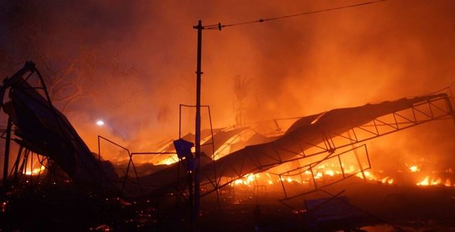 пожар, Фламенго, жертви