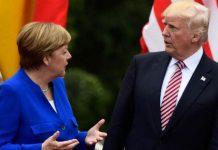 Меркел, Тръмп